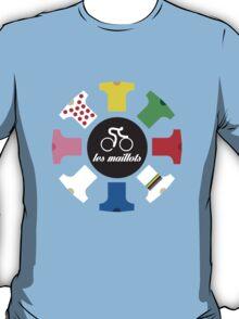 Cycling - The jerseys 'les maillots' T-Shirt