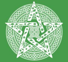 Wiccan Celtic Pentagram T-Shirts and Hoodies by TropicalToad