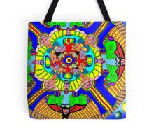 Mind map as a Mandala Tote Bag