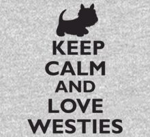 Keep Calm and Love Westies (black) by BonniePortraits