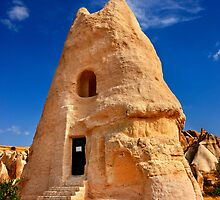 The peculiar church of El Nazar in Cappadocia by Hercules Milas