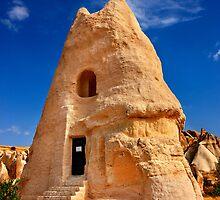 The peculiar church of El Nazar in Cappadocia by Hercules Milas