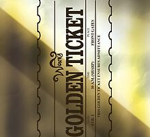 willy wonka golden ticket by viperbarratt