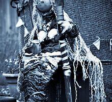 da peerie mermaid fae Hillswick by NordicBlackbird