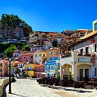 Parga Town & Castle Greece by Paul Thompson Photography
