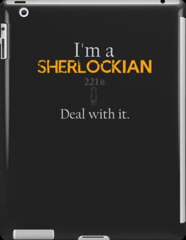 Deal with it: Sherlock Holmes by Adam Dens