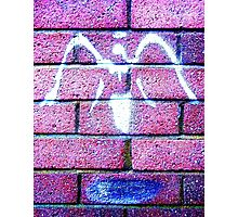 Urban Angel Pink Photographic Print