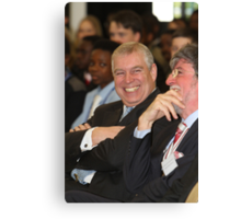 Andrew, The Duke of York opens the Royal Greenwich University Technical College Canvas Print