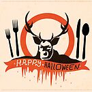 Hannibal Halloween Card by Risa Rodil