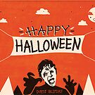 Weeping Angel - Halloween Card by Risa Rodil