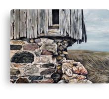 Abandoned Barn - Huron County Canvas Print