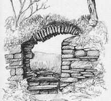 Dunboy Castle  by CapallGlas