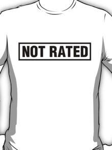 Not Rated Sticker | Fresh Thread Shop T-Shirt