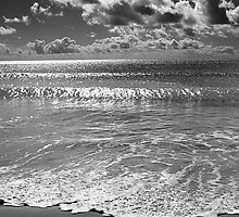 Waves and clouds. by Paul Pasco
