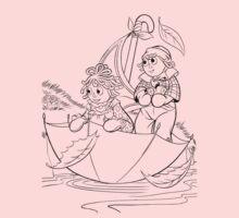 Raggedy Ann & Andy Go Sailing Kids Clothes