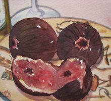 Wine and Figs by Loretta Barra