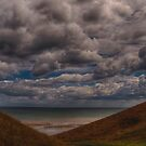 Clouds over the Beach by Glen Allen