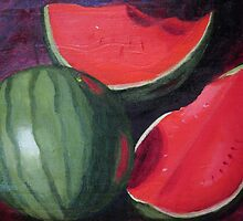 Watermelons by Loretta Barra