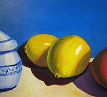 Lemons and Oranges by Loretta Barra