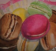 Macarons by Loretta Barra