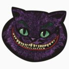 The cheshire joker head sticker by EdWoody