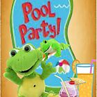A Pool Party by Ann12art