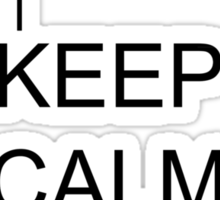 Keep Calm And Redneck On Sticker