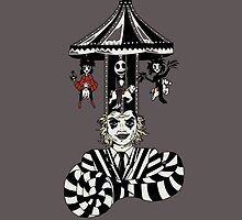 Beetlejuice Carousel burton iphone by EdWoody