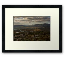 Croaghconnellagh Looking North West Framed Print
