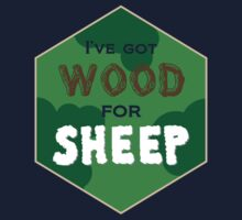 Wood For Sheep by NevermoreShirts