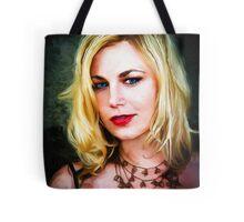 Scream Queen Jessica Cameron Tote Bag