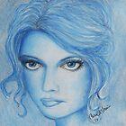 blue by artbycarol