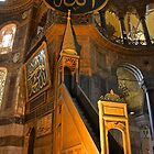 The Mimber, Hagia Sophia by Barbara  Brown