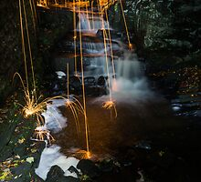 Lumsdale Wire Wool Burning by James Grant