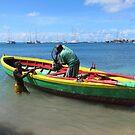 Grenada Fishing Boat by John Dalkin
