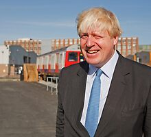 Boris Johnson by Keith Larby