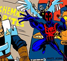 Spiderman 2099 by MattKyme