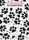 No229 My 101 Dalmatians minimal movie poster by Chungkong