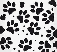 No229 My 101 Dalmatians minimal movie poster by Chungkong