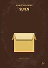 No233 My Seven minimal movie poster by Chungkong