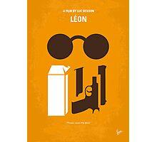 No239 My LEON minimal movie poster Photographic Print