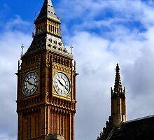 Big Ben....................La hora marca las 10.20.A.M. by cieloverde