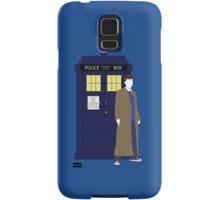 Ten and the TARDIS Samsung Galaxy Case/Skin