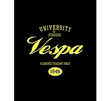 VESPA UNIVERSITY Photographic Print