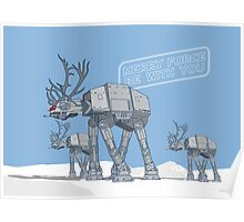 Merry Force Be With You Poster
