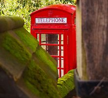 Red Telephone Box by Beverley Goodwin