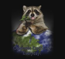 Celebrate Earth Day Everyday Raccoon Kids Clothes