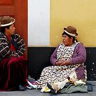 Coca Leaf Readers by Alessandro Pinto