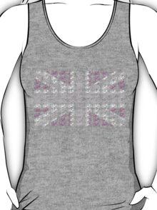 Bike Flag United Kingdom (Pink - Small) T-Shirt
