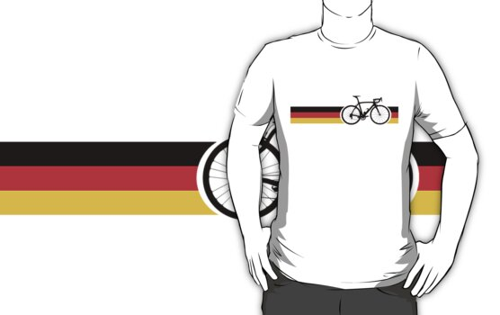 Bike Stripes German National Road Race by sher00